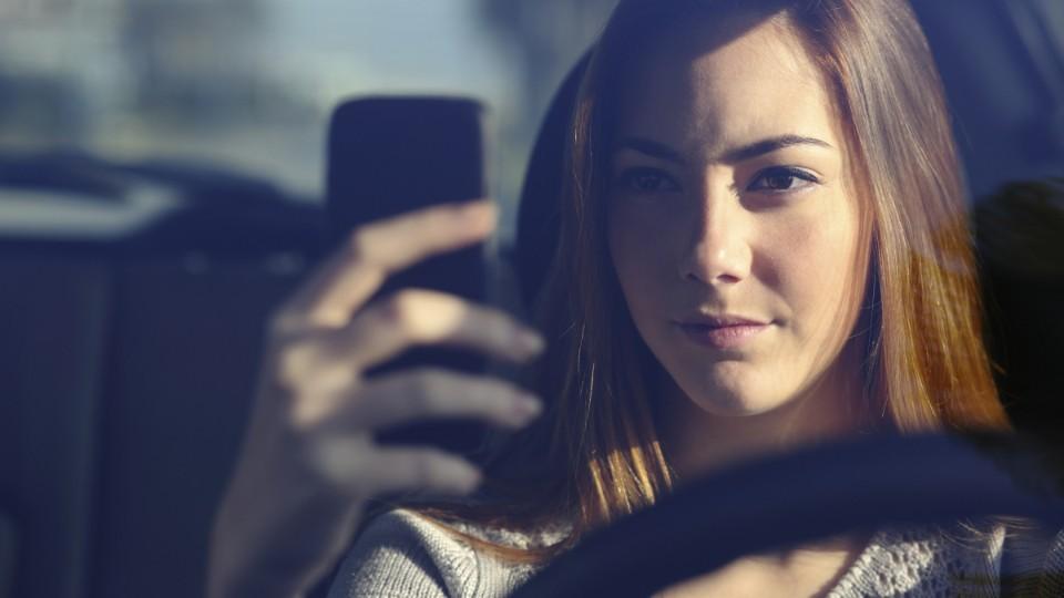 Teenager za volantem