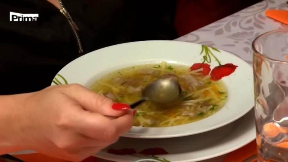 Prostřeno! - Je ta polévka sladká nebo slaná