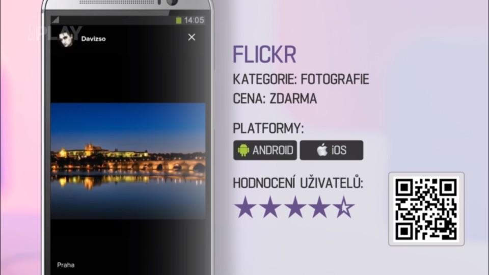 Prima Rádce - Aplikace FLICKR