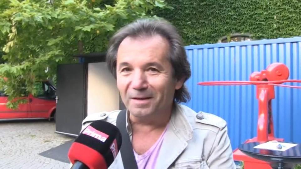 Rozhovor s Andorem Šándorem před natáčením TGM