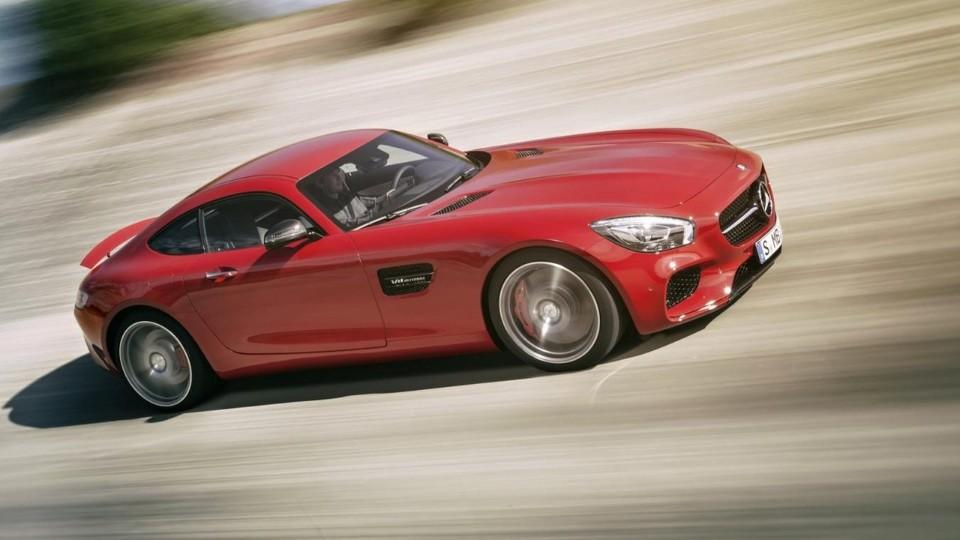 Mercedes-Benz AMG GT oficiálně