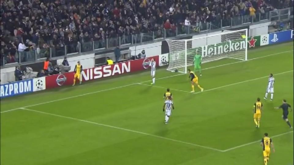 Sestřih zápasu - Juventus v Atletico (9.12.2014)