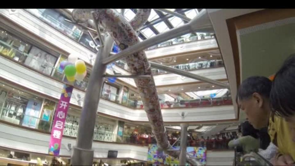 SVĚT: Tobogán v nákupním centru