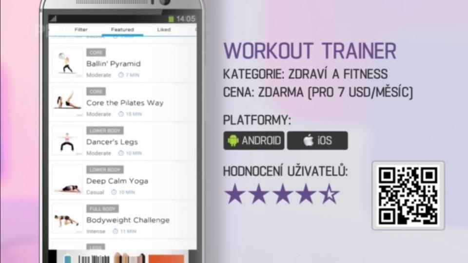 Prima Rádce - Aplikace Workout Trainer
