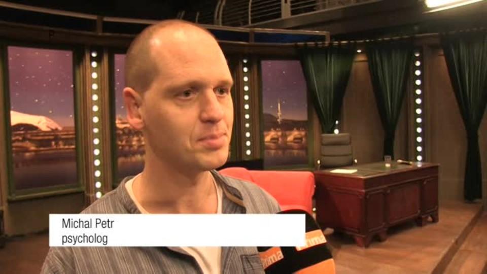 Psycholog Michal Petr v SJK