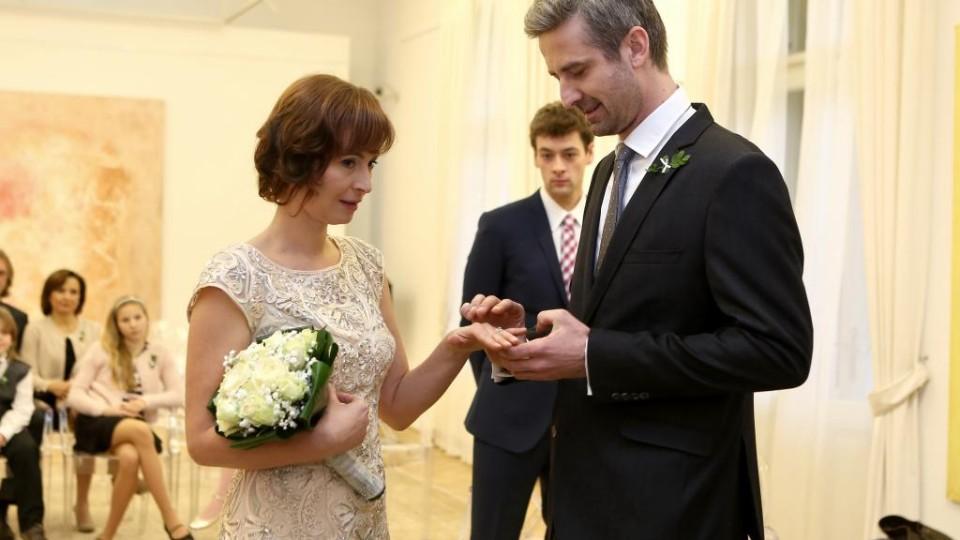 Cesty domů - svatba Hynka s Valerií