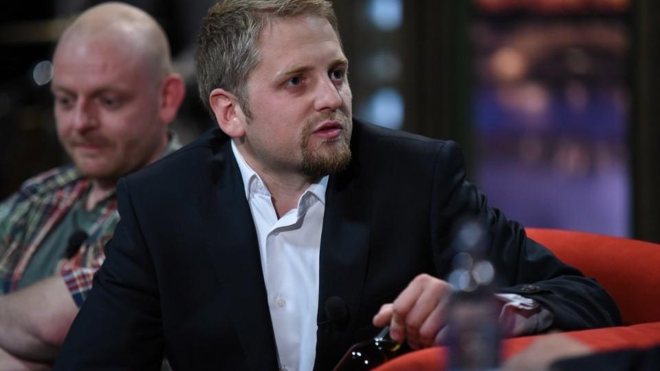 Prezident Liberlandu Vít Jedlička v SJK