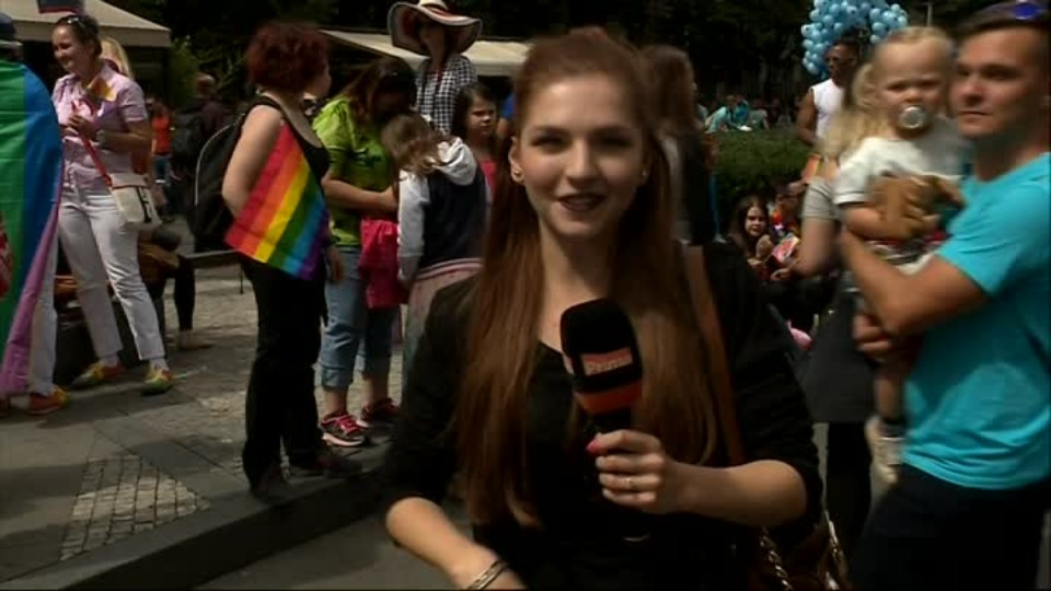 TOP STAR 13.8.2016 - Prague Pride pochod
