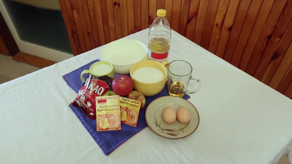 Vychytávky Ládi Hrušky - Jablečné řezy