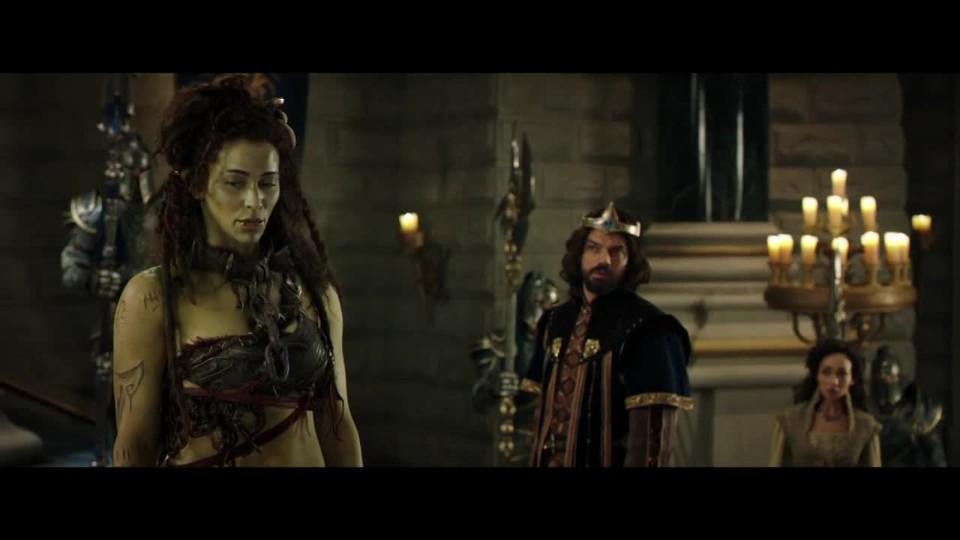 Klip z Warcraftu: Llane a Garona
