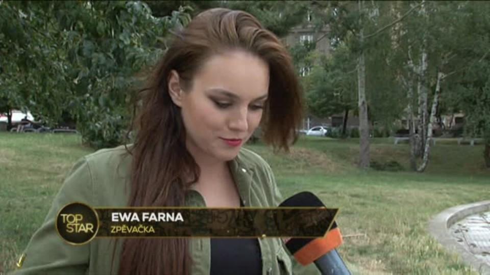 TOP STAR 13.7.2016 - Ewa Farna - nový videoklip