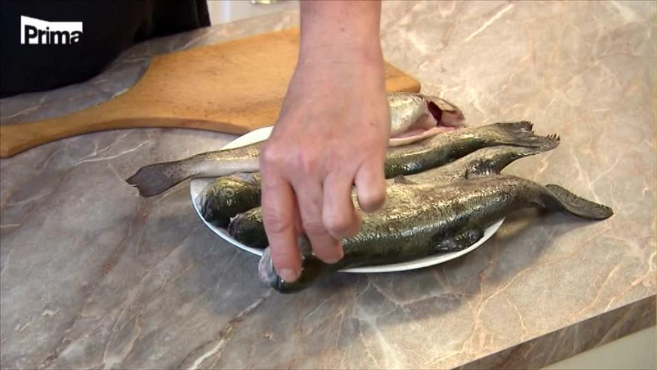 Prostřeno! - Rybář a koupil ryby