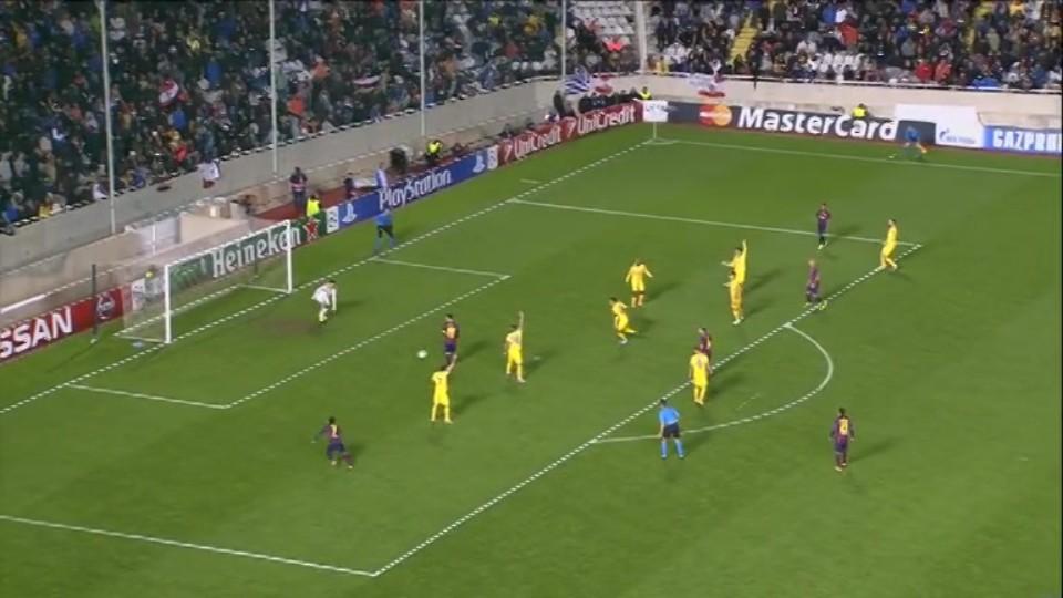 Gól - Messi 87 (25.11.2014)
