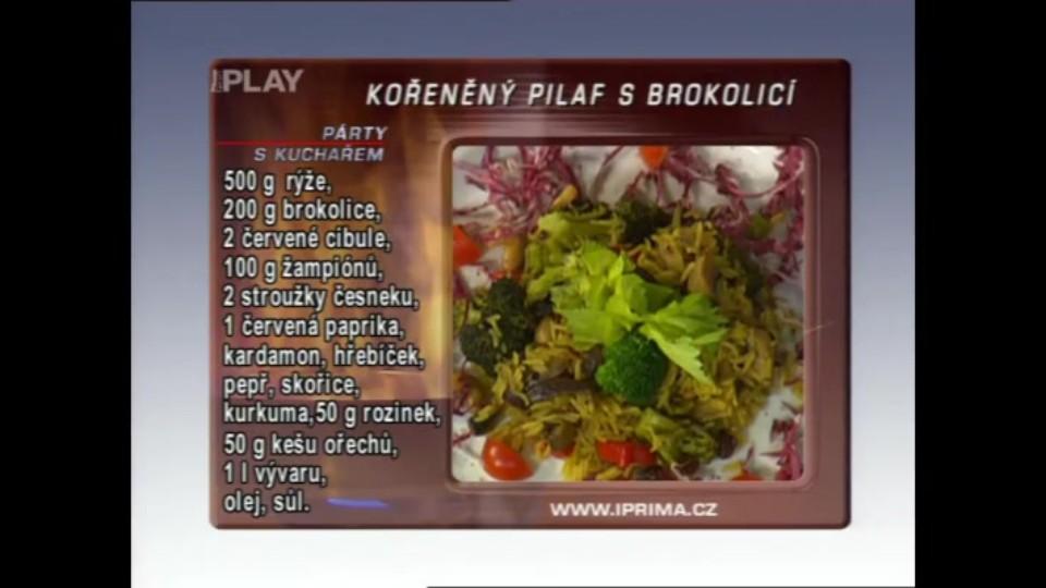 Kořeněný pilaf s brokolicí