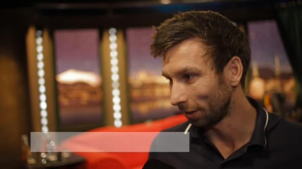 Badmintonista Petr Koukal v SJK