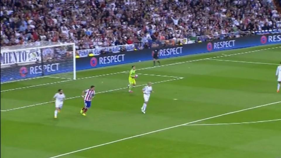 Sestřih zápasu - Real Madrid v Atletico (22.4.2015)