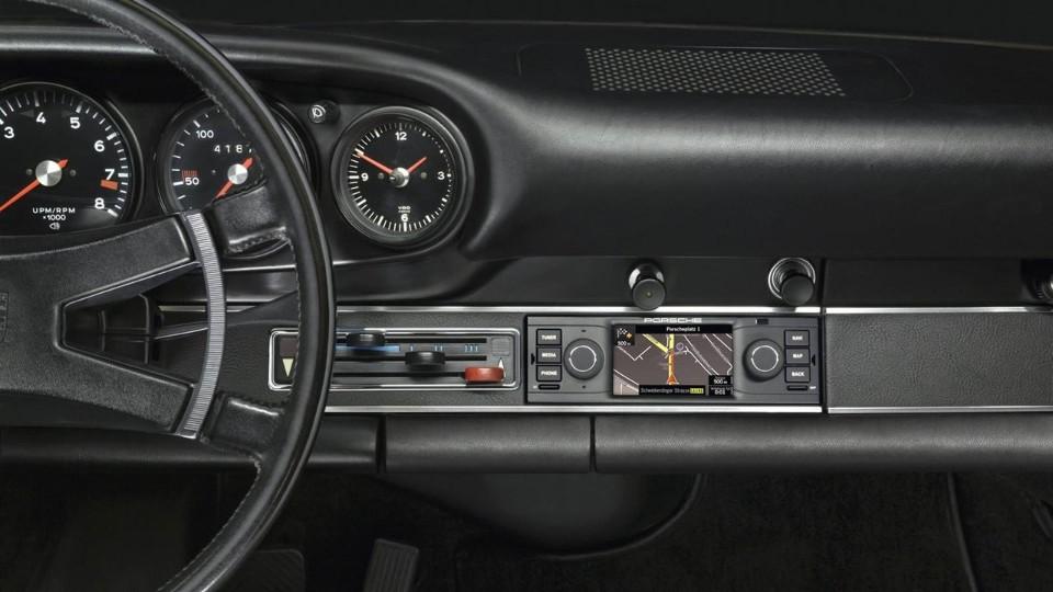 Porsche retro navigace