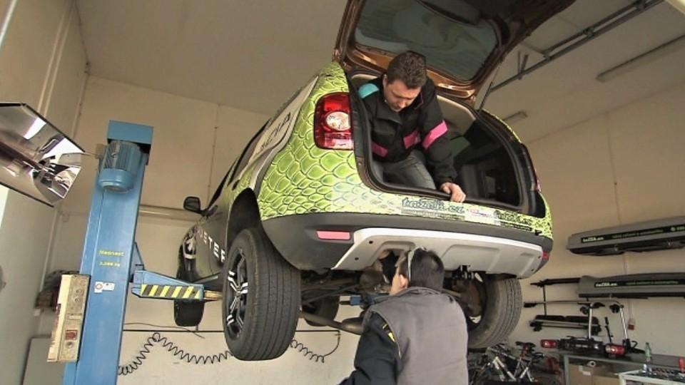 Preventivní servis automobilu - tažné zařízení
