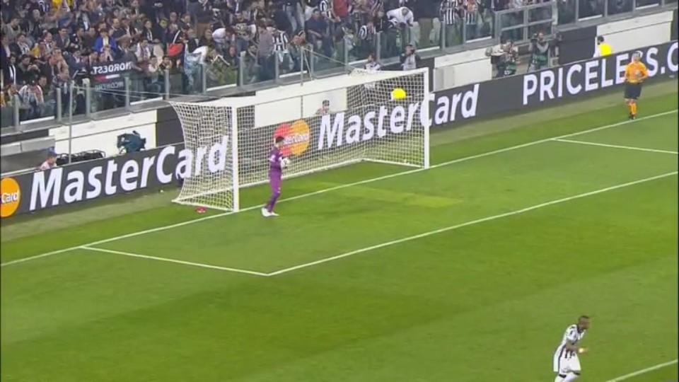 Sestřih zápasu - Juventus v Monaco (14.4.2015)