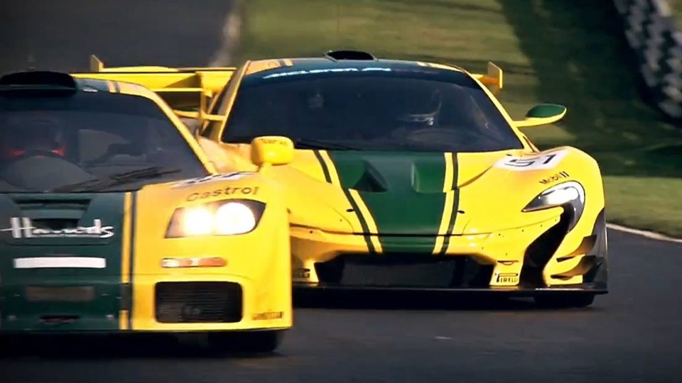McLaren F1 GTR vs. McLaren P1 GTR