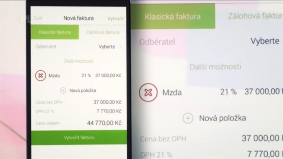 Prima Rádce - Aplikace na správu faktur