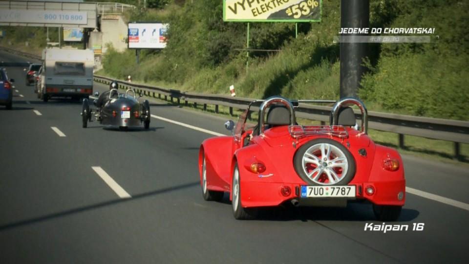 Jedeme do Chorvatska Morgan + Kaipan II.část