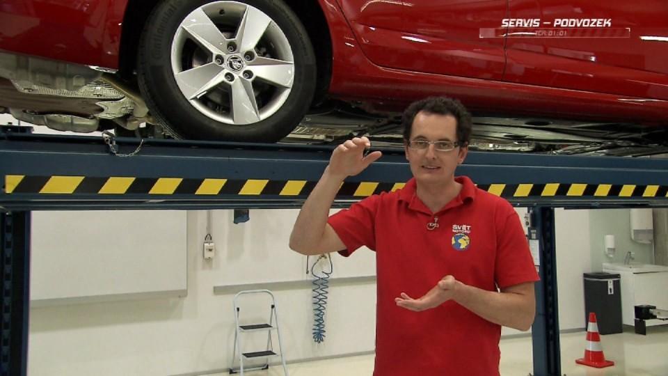 Preventivní servis automobilu - podvozek