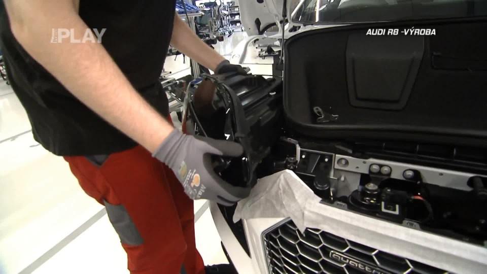 Audi R8 - výroba II.část