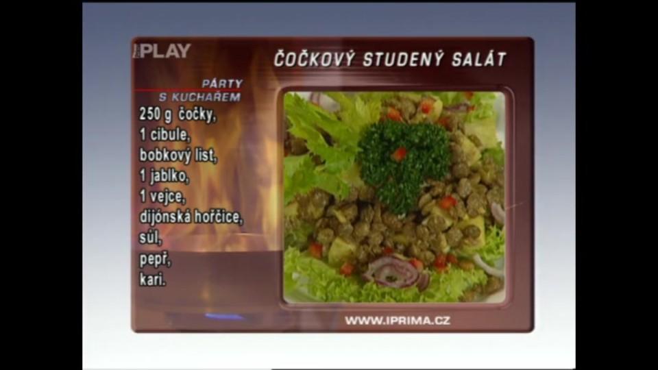 Čočkový studený salát