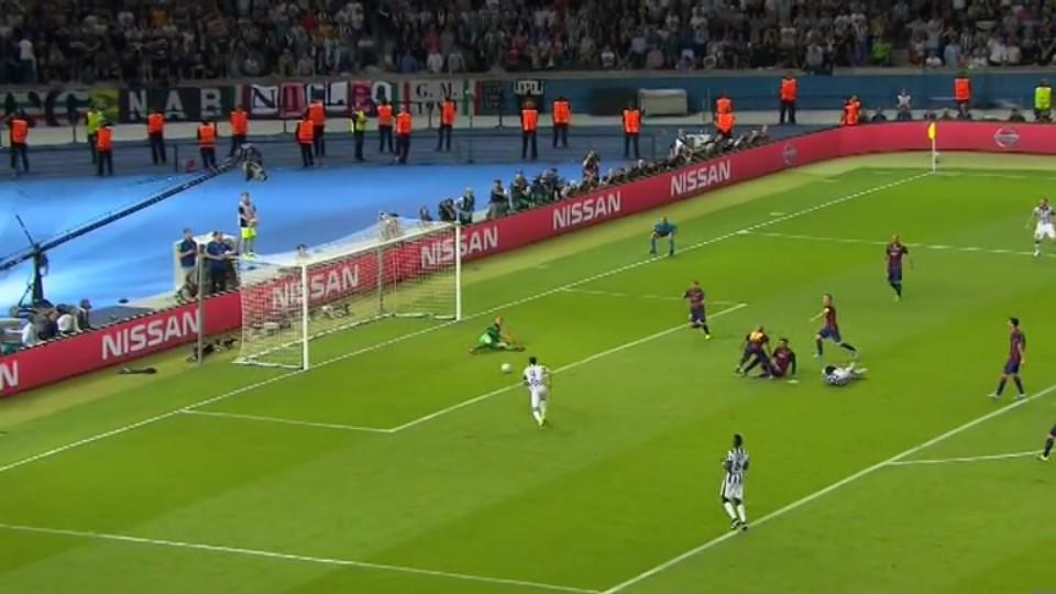 Gól - Morata 55 (6.6.2015)