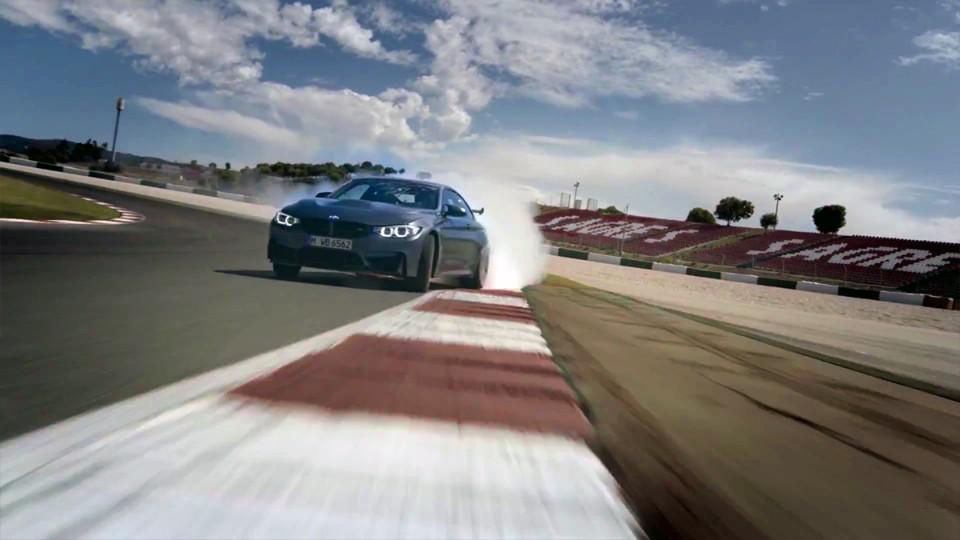 BMW M4 GTS v pohybu