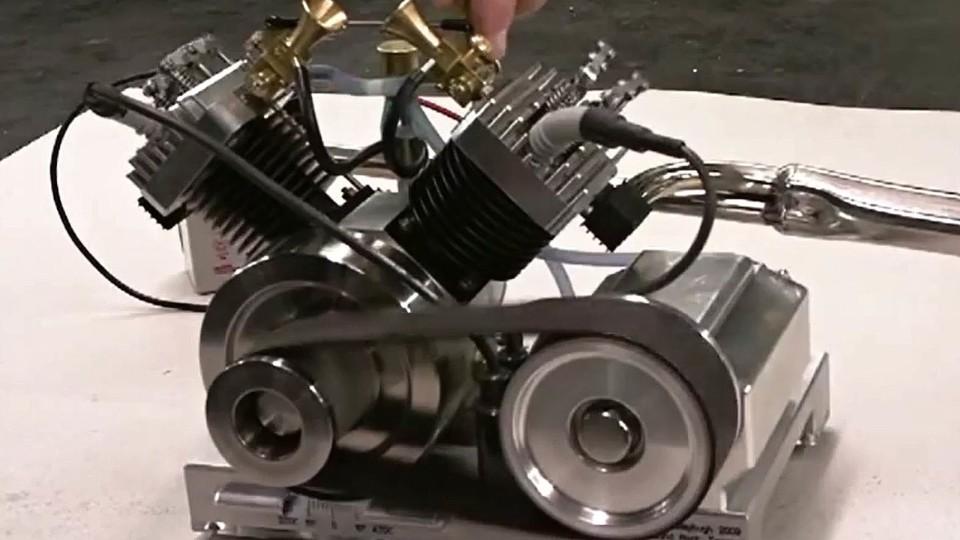 Model spalovacího motoru 3