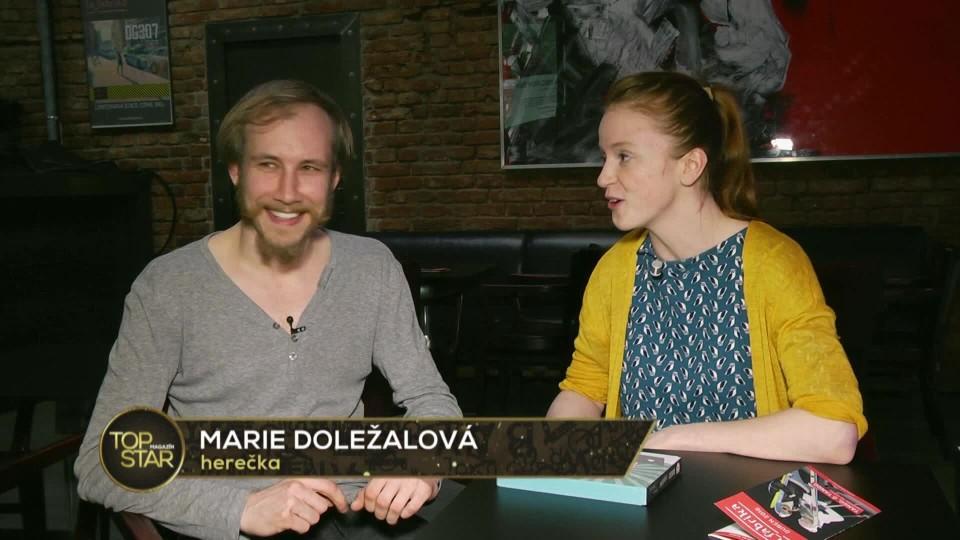 TOP STAR Magazín 2016 (24) - Marek Zelinka a Marie Doležalová