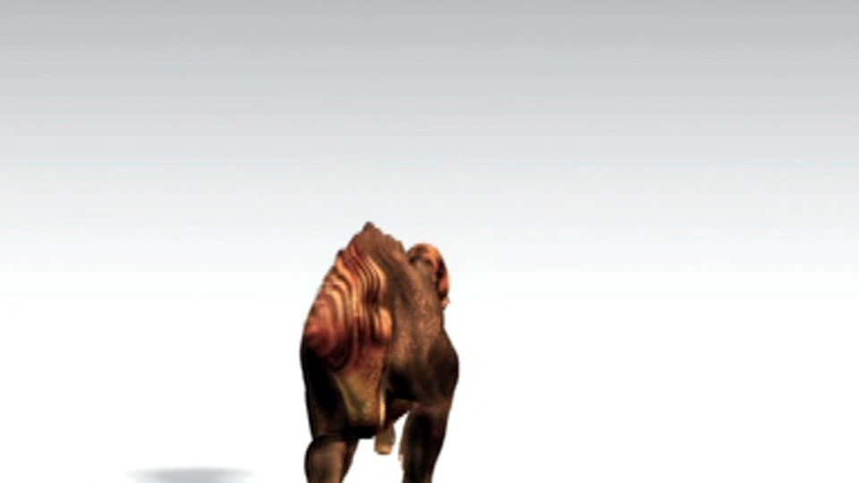 Dinosauří mumie - rychlý hadrosaurus