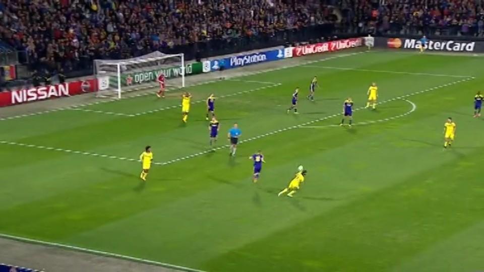 Sestřih zápasu - Maribor v Chelsea (5.11.2014)
