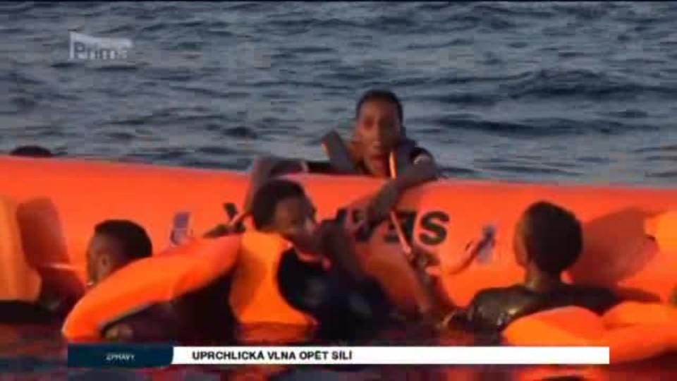 Uprchlická vlna na vzestupu