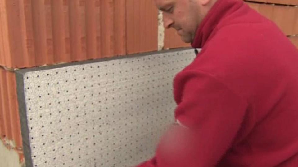 Děrovaný polystyren