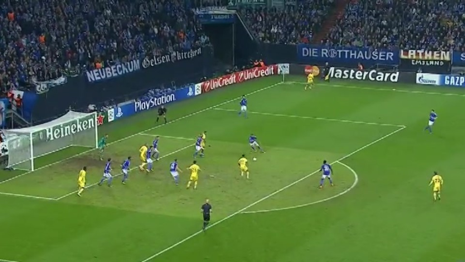 Sestřih zápasu - Schalke v Sporting (21.10.2014)