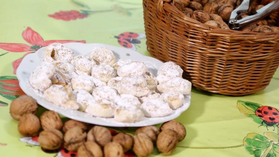 Vychytávky Ládi Hrušky - Ořechy + šneci