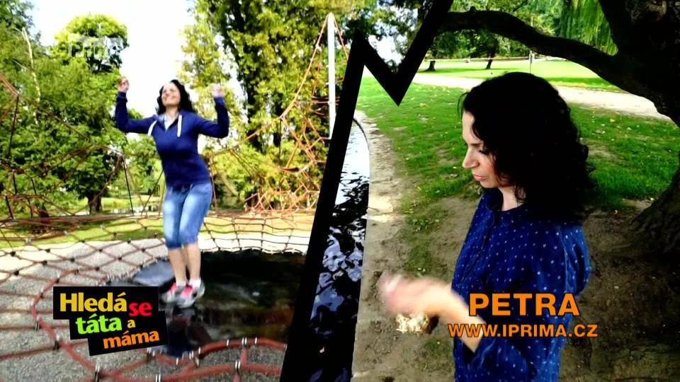 Hledá se táta a máma (medailonek Petra)