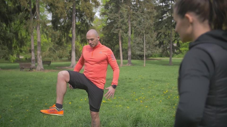 Prima Ženy - Protažení před a po běhání