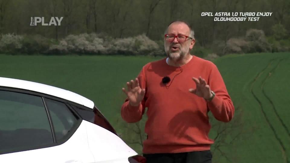 Opel Astra 1,0 Turbo Enjoy dlouhodobý test