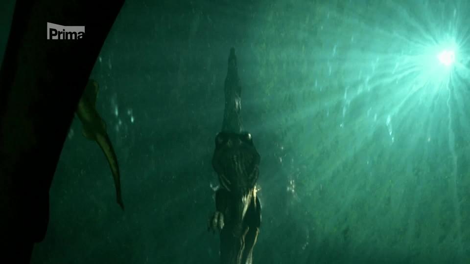 Záhadný spinosaurus - vodní lovec