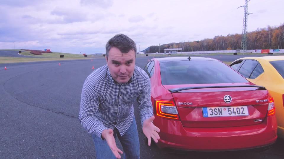 Jak poznat benzínovou Octavii RS od ropáka
