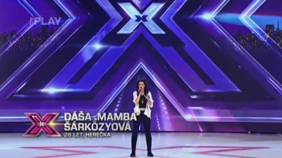 X Factor (6) - nejlepší vystoupení - Dáša Šarkézyová