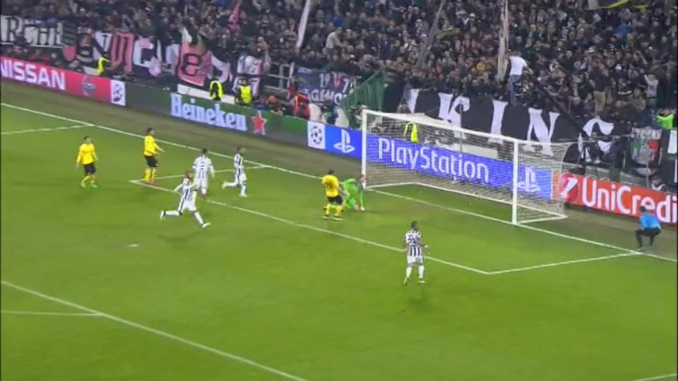 Gól - Morata 43 (24.02.2015)