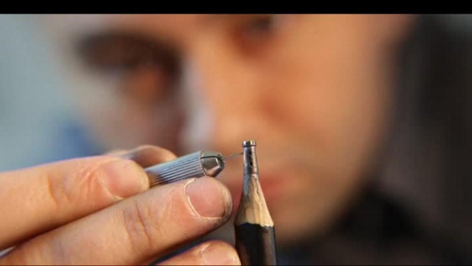 SVĚT: Sochy na špičce tužky