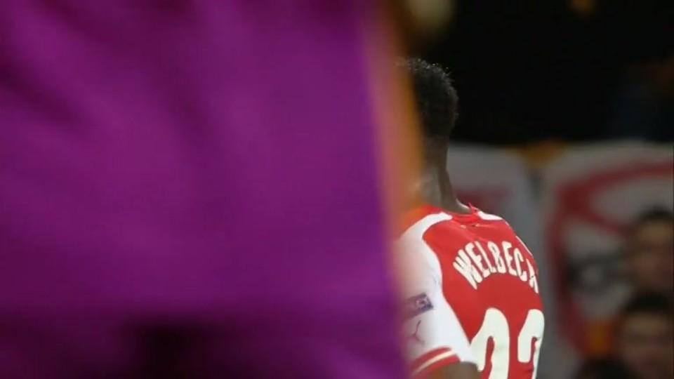 Sestřih zápasu - Arsenal v Galatasaray (1.10.2014)