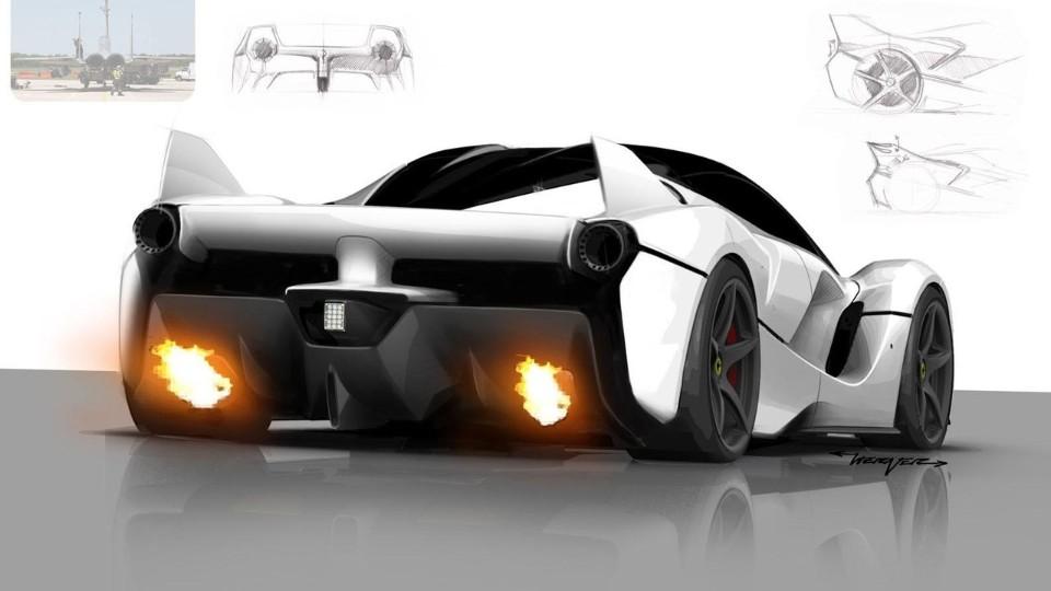 Ferrari FXX K Design