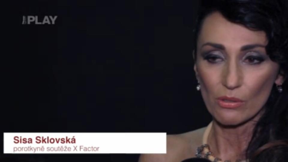 X Factor - Sisa Sklovská